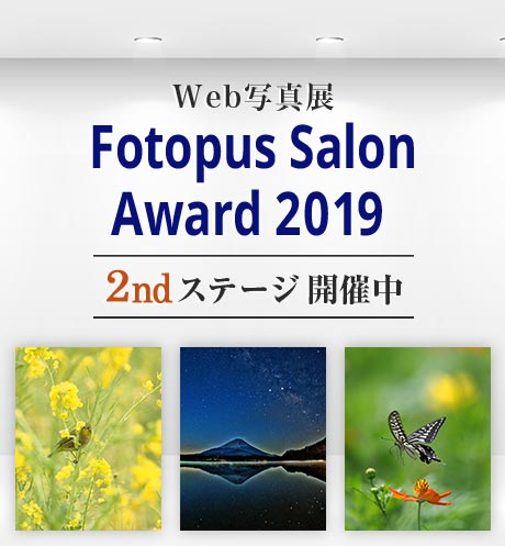 Web写真展 Fotopus Salon Award 2019